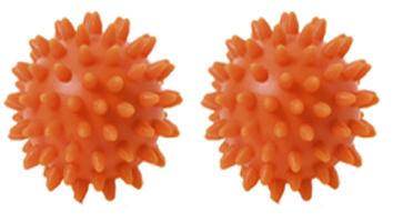 Noppenbal klassiek 6 cm, set van 2
