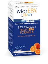<ul><li>lekkere sinaasappelsmaak zonder visnasmaak</li><li>85% omega 3</li></ul>