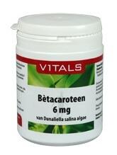 <ul><li>precursor van vitamine A uit natuurlijke bron</li><li>bevat 500 mcg vitamine A-equivalenten per capsule</li><li>Vitamine A ondersteunt het immuunsysteem</li><li>Vitamine A is goed voor het gezichtsvermogen</li><li>geschikt voor vegetariërs</li></ul>
